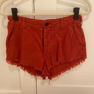 Free people cut off jeans